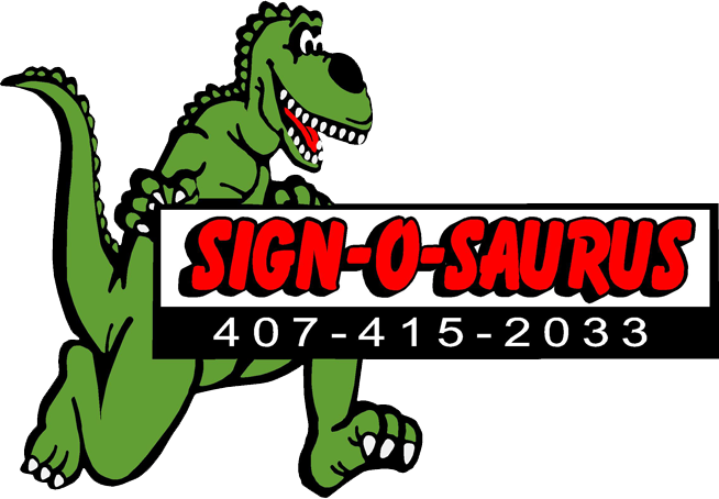Sign-O-Saurus Logo