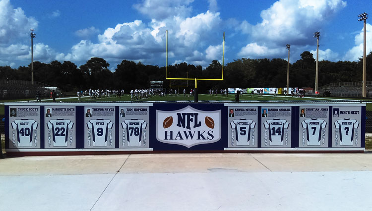Lake Howell High School Football Sign